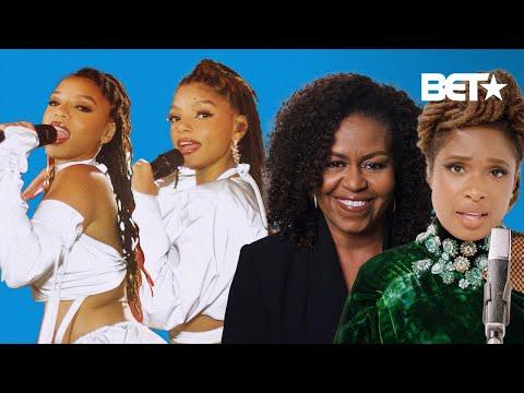 Chloe X Halle, Jennifer Hudson & Michelle Obama Are 3 Generations Of Inspiring Women | BET Awards 20