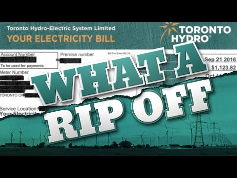 Electricity prices in Canada are too high! Fight back! WhatARipOff.ca