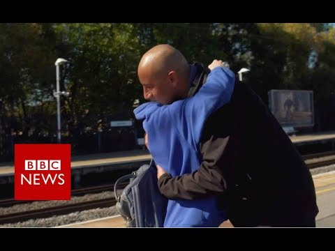 'Meeting the stranger who saved my life' - BBC News