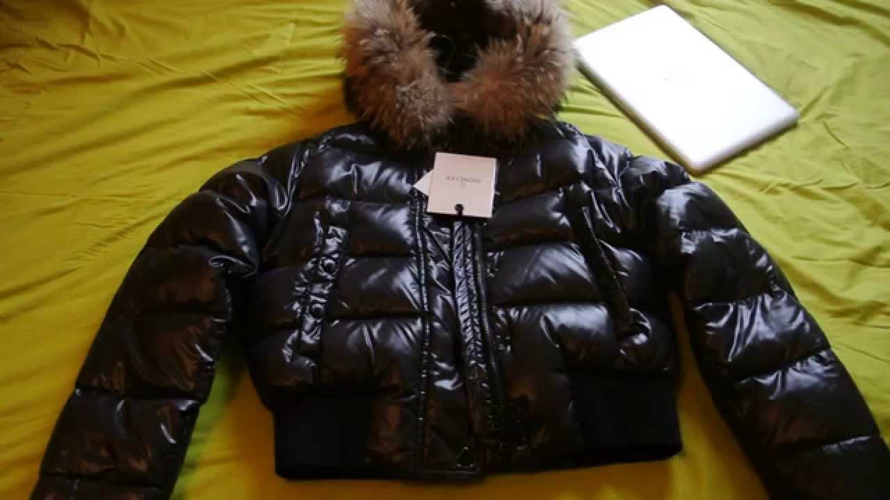 moncler womens black alpine jacket