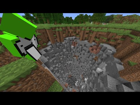 Minecraft But Every Chunk Explodes Youtube
