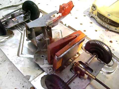 ancien jouet tôle a système ARNOLD auto mercedes 300 sl