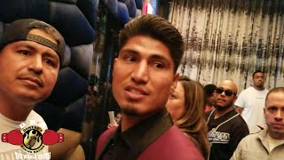 Mikey GARCIA & BRONER GET INTO HEATED exchange! thumbnail