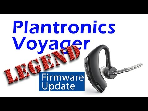 Plantronics Voyager Legend Firmware Update