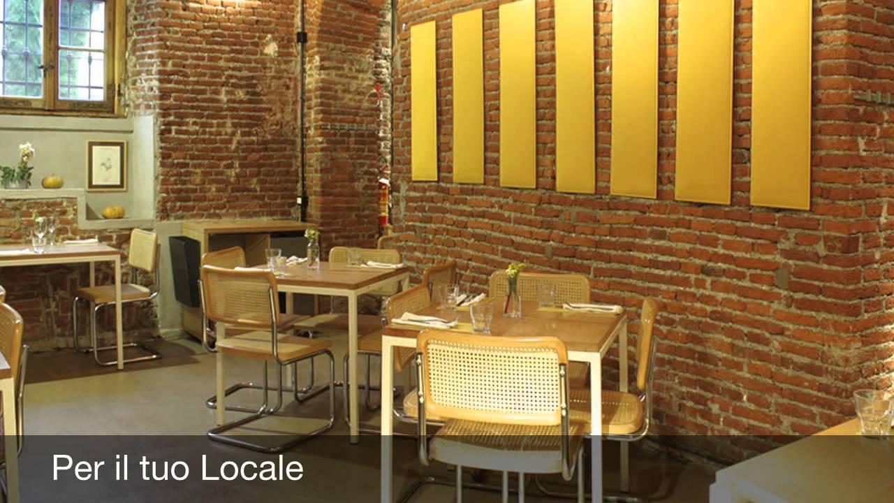 Pannelli fonoassorbenti per pareti youtube - Pannelli fonoassorbenti decorativi ...