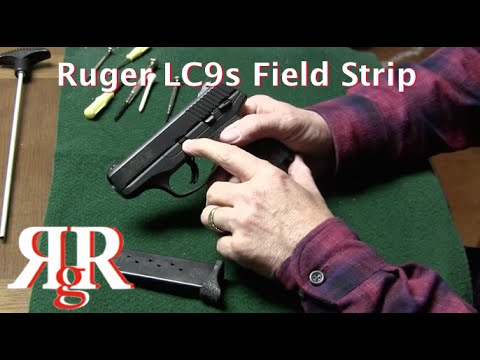 Ruger LC9s Field Strip