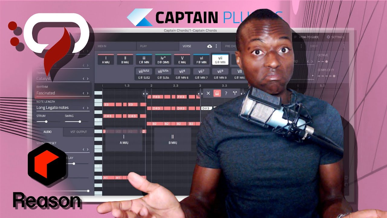 CAPTAIN PLUGINS 5: WOW! MY THOUGHTS & DEMO in REASON!