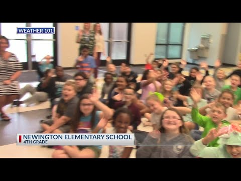 Rob Fowler visits the 4th graders at Newington Elementary School