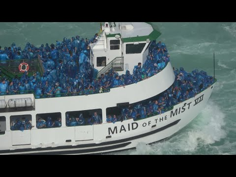 Maid of the Mist at Niagara Falls Canada