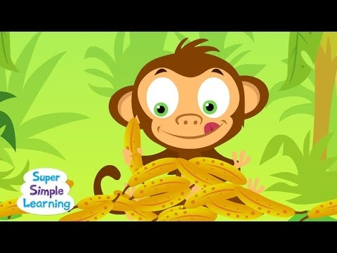 The Bananas Song  Counting Bananas  Super Simple Songs
