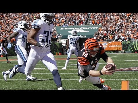 Role Reversal: Mohamed Sanu throws touchdown pass to Andy Dalton (Week 3, 2014)
