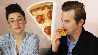 Download People Learn Gross Pizza Facts While Eating Pizza Mp3 and Videos
