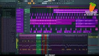 Post Melone - Goodbyes | FL STUDIO | FLP | Electronic Music Production
