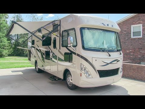 2017-thor-ace-29.4-double-slide-class-a-gas-motorhome-camper-walk-around-turorial-video
