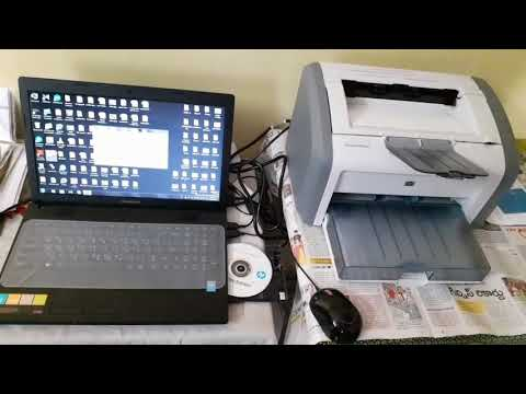 HP LASERJET 1020 PLUS PRINTER INSTALLATION VERY SIMPLE