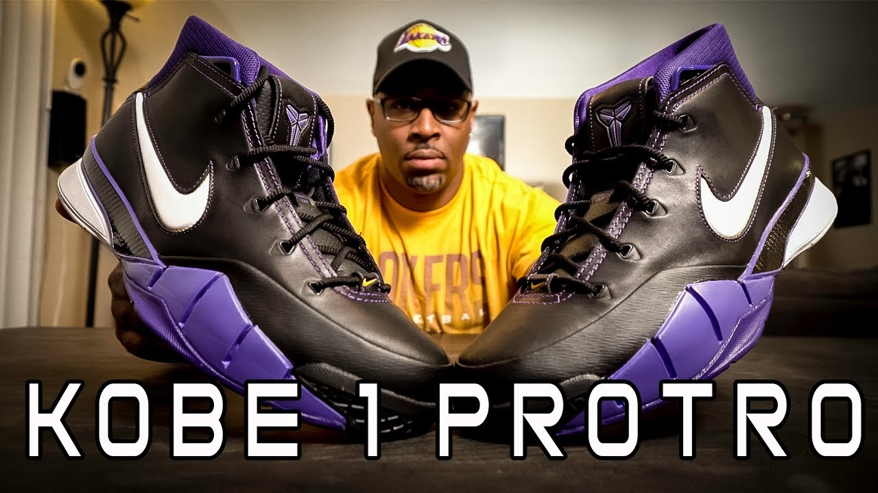 812cc00adb8 Nike Kobe 1 Protro REEview - YouTube