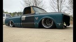 Body-Dropped Chevy C10 Header build Tips: Finnegan's Garage Ep.98