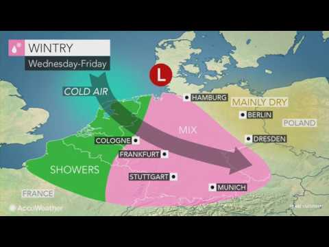 ASMR Weather Forecast  Tuesday Nov 28/ Tropical Update/Germany