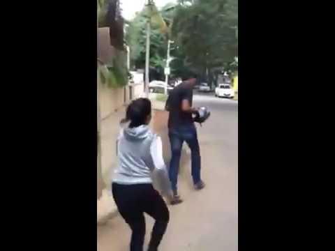Bangalore woman chases, kicks man who sexually molested her