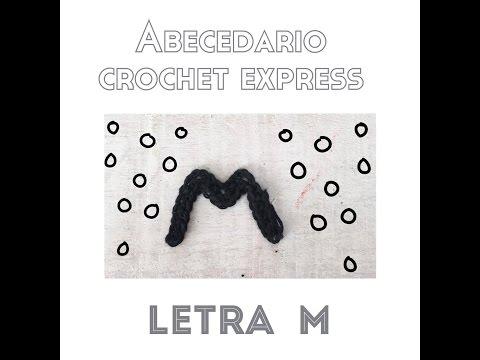 Abecedario Crochet. Letra