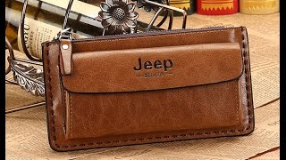 Мужские портмоне Jeep, клатч, бумажники, барсетка, кошелек .(Мужской кошелек Jeep, клатч, бумажник, барсетка, портмоне . Два отделения. http://www.moipokupki.by/catalog/koshelki_portmone/muzhskie_koshelk..., 2015-09-22T18:42:25.000Z)