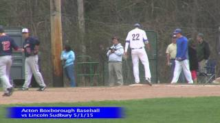 Acton Boxborough Boys vs Lincoln Sudbury 5/1/15