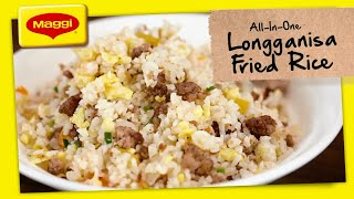How to Cook Longganisa Fried Rice with MAGGI
