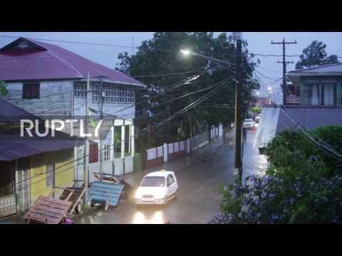 Nicaragua: Hurricane Otto reaches eastern coast as 7.0 earthquake strikes
