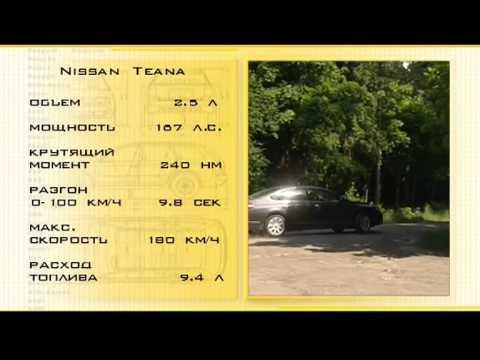 Наши тесты Nissan Teana 4 wd
