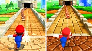 Mario Party The Top 100 - All Mario Party 9 Minigames vs Original (Comparison)