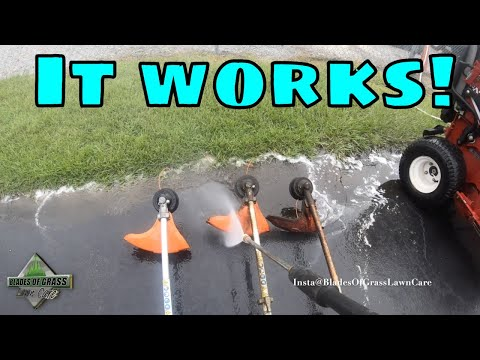 3 TRIMMERS 3 LAWN MOWERS IN 5 MINUTES | CLEANING LAWN EQUIPMENT [LAWN LIFE]