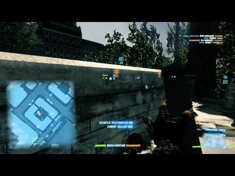 Battlefield 3: M224 Mortar Support Gadget Gameplay PC [HD] 1080p
