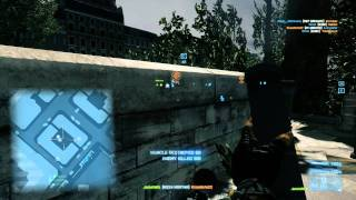 Battlefield 3: M224 Mortar Support Gadget Gameplay PC [HD] 1080p