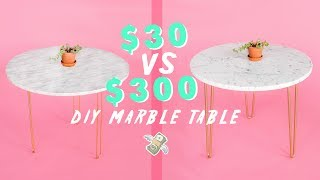 MAKING THE SAME DIY: $30 VS $300 💸💸