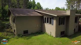 THE ULTIMATE IN UP NORTH LIVING ON THE SPIRIT FLOWAGE! 1:30 minutes