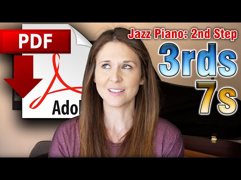Jazz Piano: 2nd Step - 3rds, 7s, And Melody On Misty