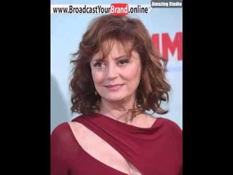 Susan Sarandon Layered Haircut For Curly Hair - YouTube