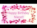 Happy Birthday to My Beautiful Niece | Birthday Wishes For Niece