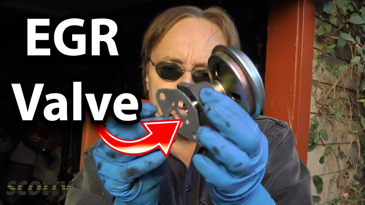 How to Replace Bad EGR Valve in Your Car  YouTube