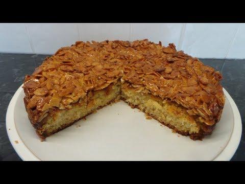 Tosca Cake   Nordic Almond Praline Cake