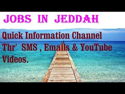 Jobs  in  JEDDAH    City for freshers & graduates. industries, companies.  SAUDI ARABIA