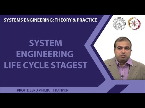 System Engineering Life Cycle Stages