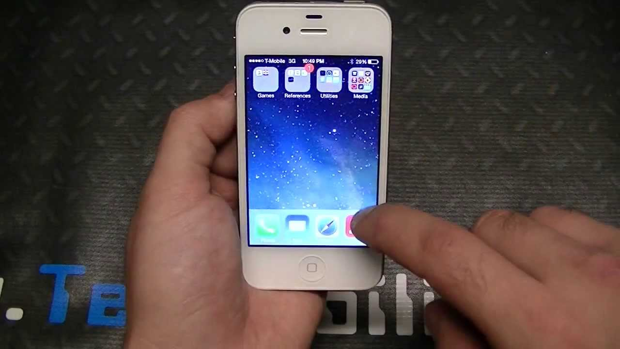 iphone 4 ios 7 ios 7 beta 4 look on iphone 4s 14385