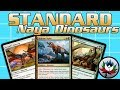 MTG – Naya Dinosaurs Tribal Standard Deck Tech for Magic: The Gathering - Ixalan!