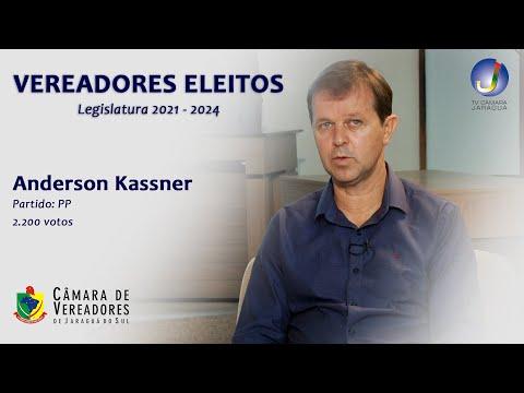 ANDERSON KASSNER - VEREADOR ELEITO