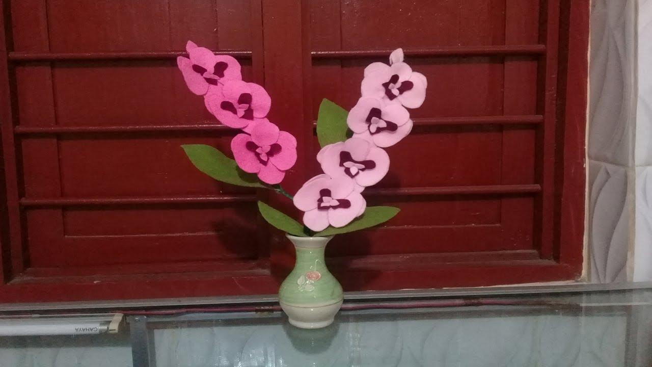 900 Gambar Bunga Sakura Dari Kain Perca Hd Infobaru