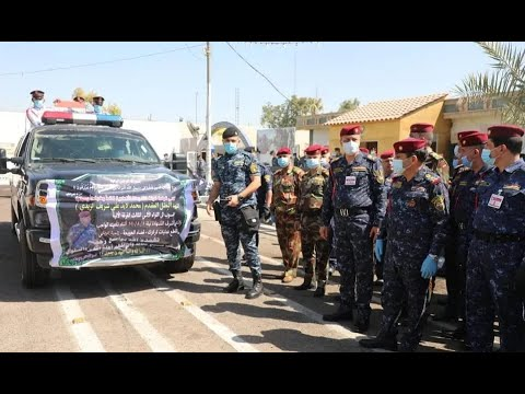 الشرطة العراقية تشيّع أحد أفرادها بهجوم كركوك الإرهابي  - نشر قبل 4 ساعة