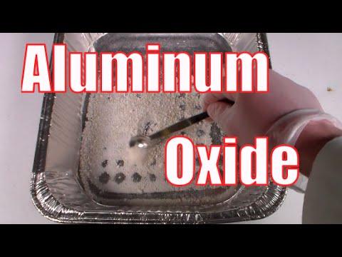how to make aluminum oxide al2o3 youtube. Black Bedroom Furniture Sets. Home Design Ideas