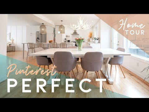 😍The PINTEREST Perfect Home You MUST See!  😍 Virtual Tour Hawkwood, Calgary