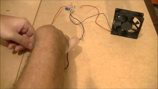 Gerador De Energia Infinita 4 - Free Energy Generator - Ligando Uma Ventoinha Em Um Prego